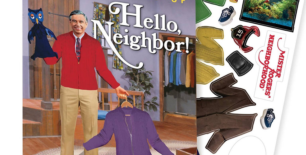 Unemployed Philosophers Guild Mister Rogers Magnetic Dress Up