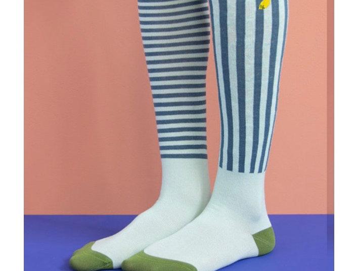Sticky Lemon kids knee sock - Mint