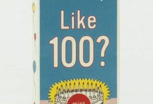 Blue Q Like 100 gum