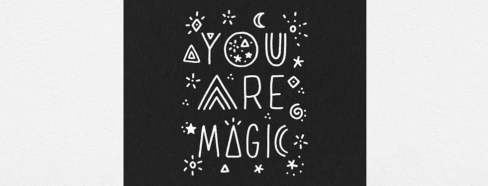 Worthwhile Paper you are magic 8x10 print