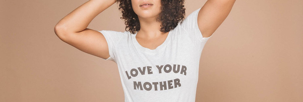 The Bee & The Fox Love Your Mother Women's tee