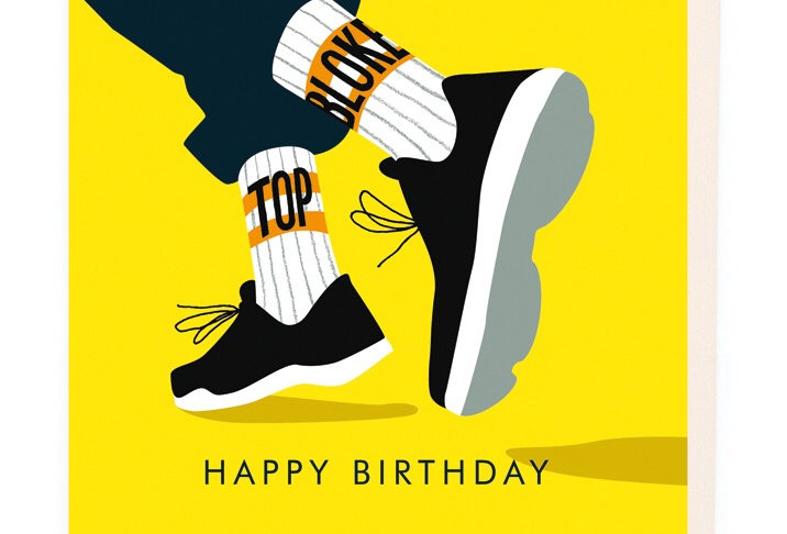 Noi Happy Birthday Sneakers card