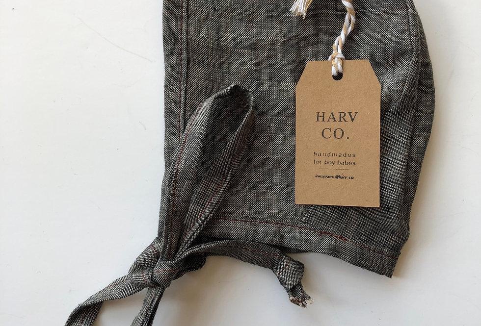 Harv Co Bonnet 3-6m