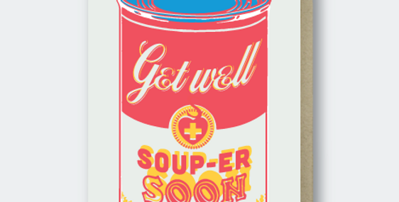 Pike Street Press Get Well Soon card
