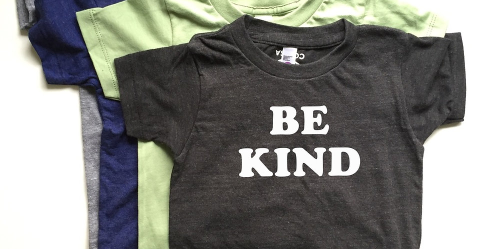 Savage Seeds Be Kind kids tee (Black)