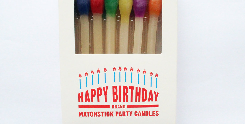 One hundred 80 Degrees Matchstick Candles