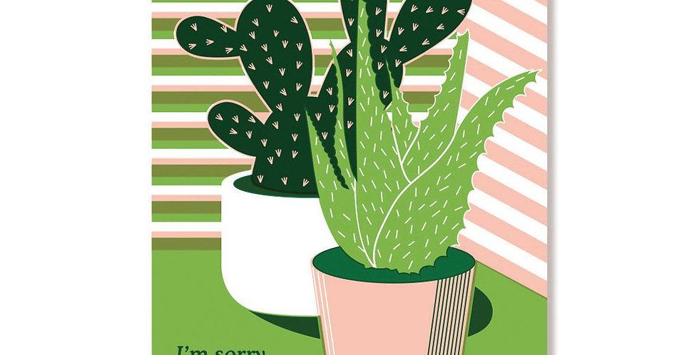 Anne & Kate Prickly card