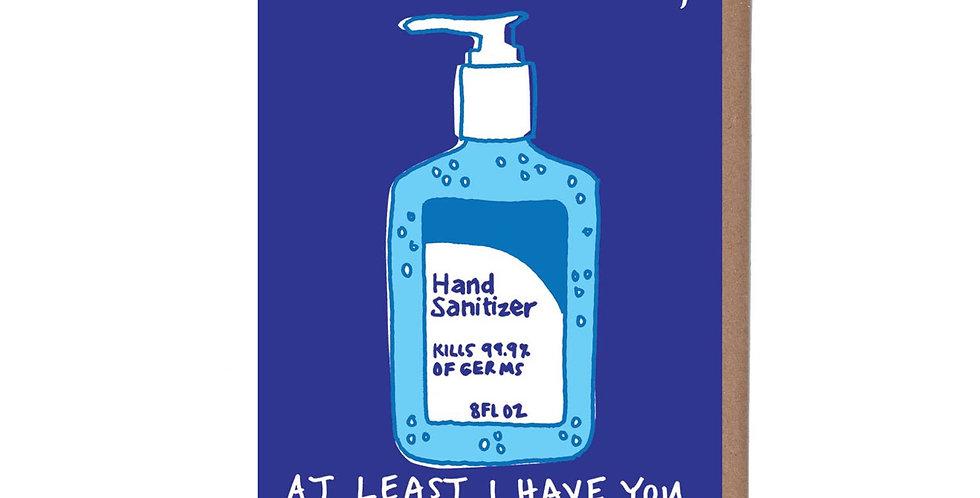 La Familia Green Hand Sanitizer card