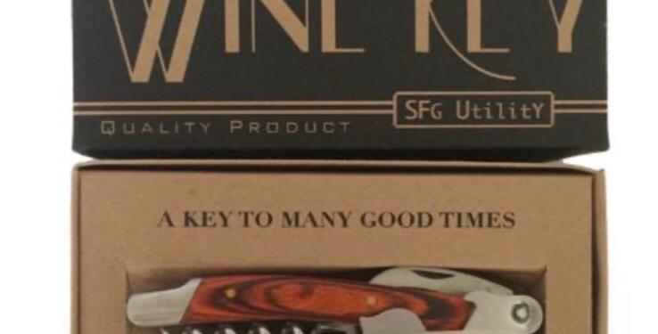 Spitfire Girl Wine Key