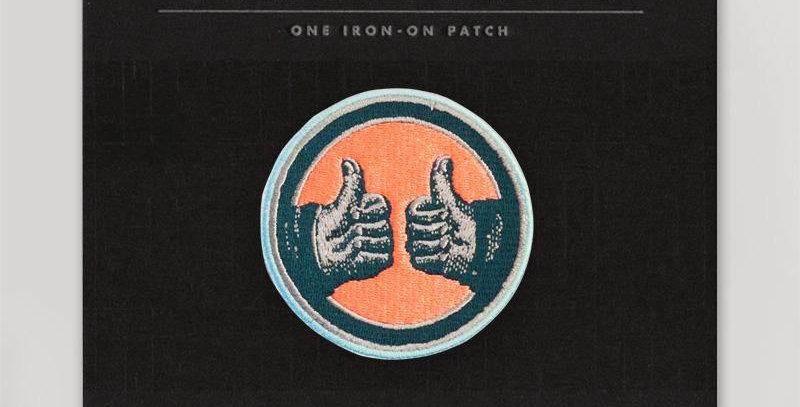 Hammerpress Thumbs Up patch