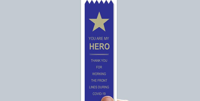 """Adulting FTW """"You Are my Hero"""" ribbon"""