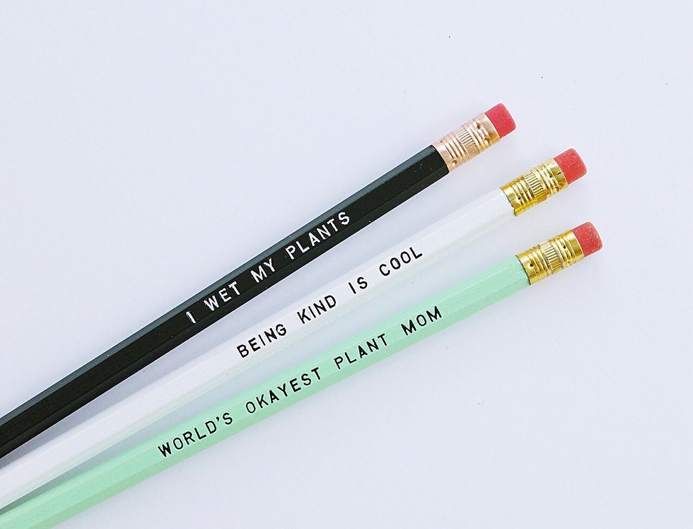 Tuff Girl Gang Pencils