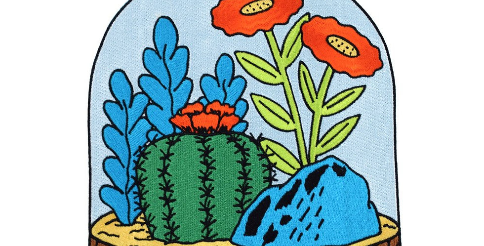 Valley Cruise Large Terrarium Back Patch