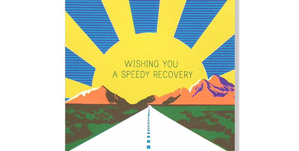 Anne & Kate Speedy Recovery card