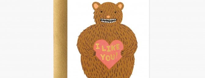 Rifle Paper Co I Like You card