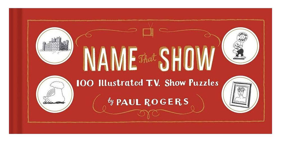 Chronicle Name that show puzzle book