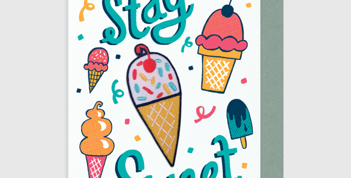 Allison Cole Stay Sweet Patch + Card