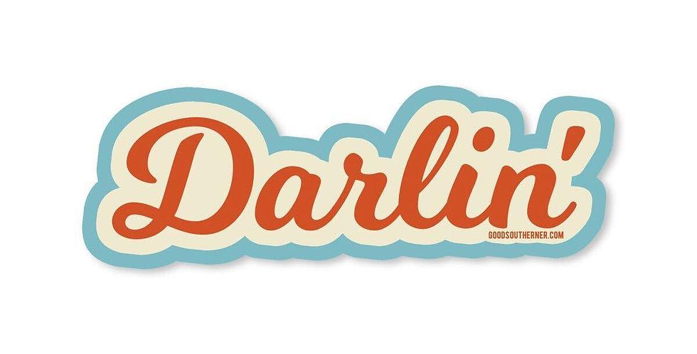 Good Southerner Darlin' sticker