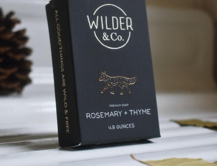Wilder & Co. Rosemary + Thyme soap