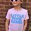 Thumbnail: Gunner & Lux Little Pink Rebel kids tee