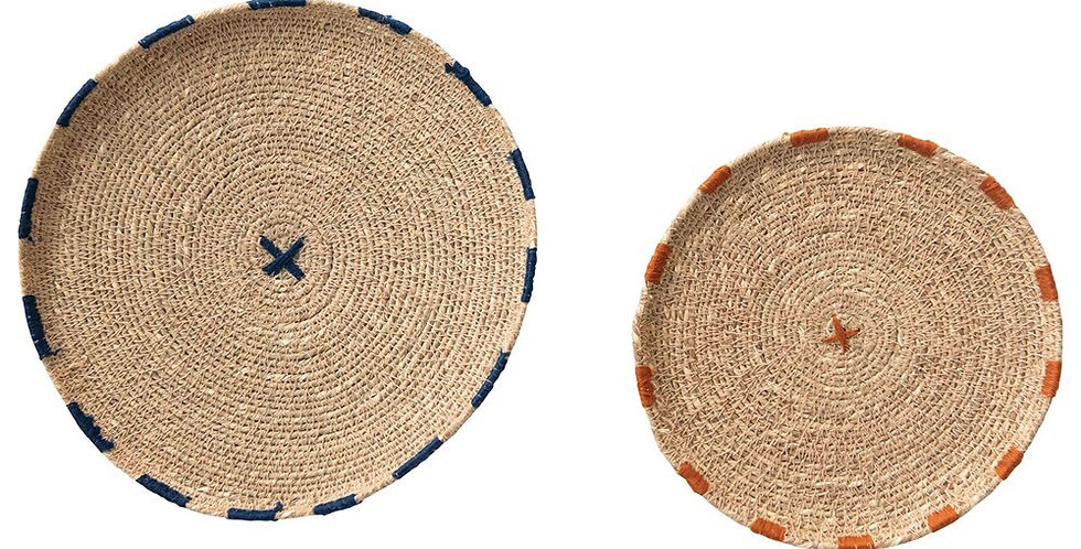 Creative Co-Op small seagrass tray