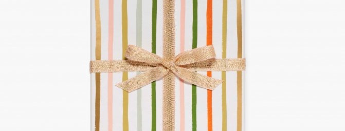 Rifle Gift Wrap Roll - Stripe