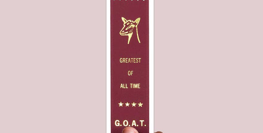"""Adulting FTW """"Greatest Of All Time"""" ribbon"""