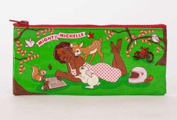 Blue Q Mighty Michelle pencil case