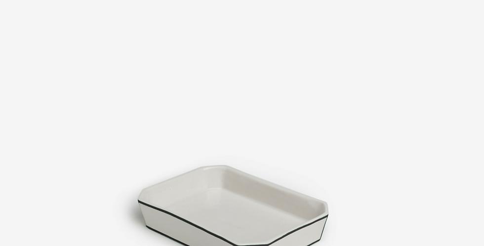 Odeme Soap Dish (Black Edges)