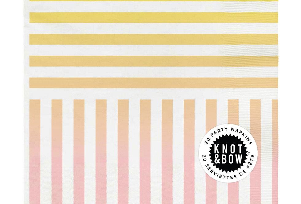 Knot & Bow Rainbow Napkins