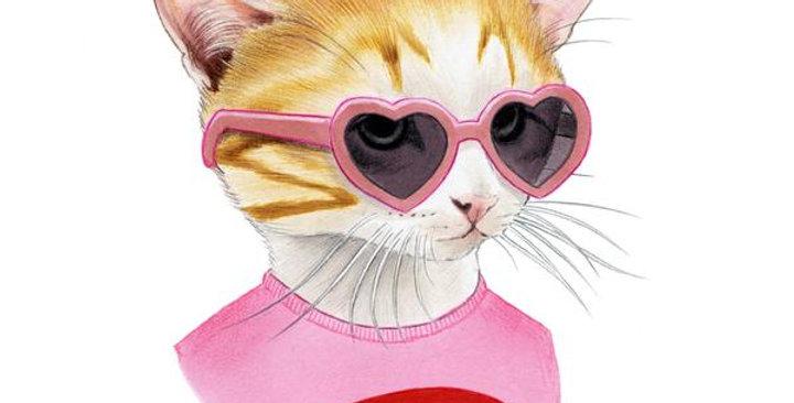 Tattly Temporary Cool Cat Tattoo