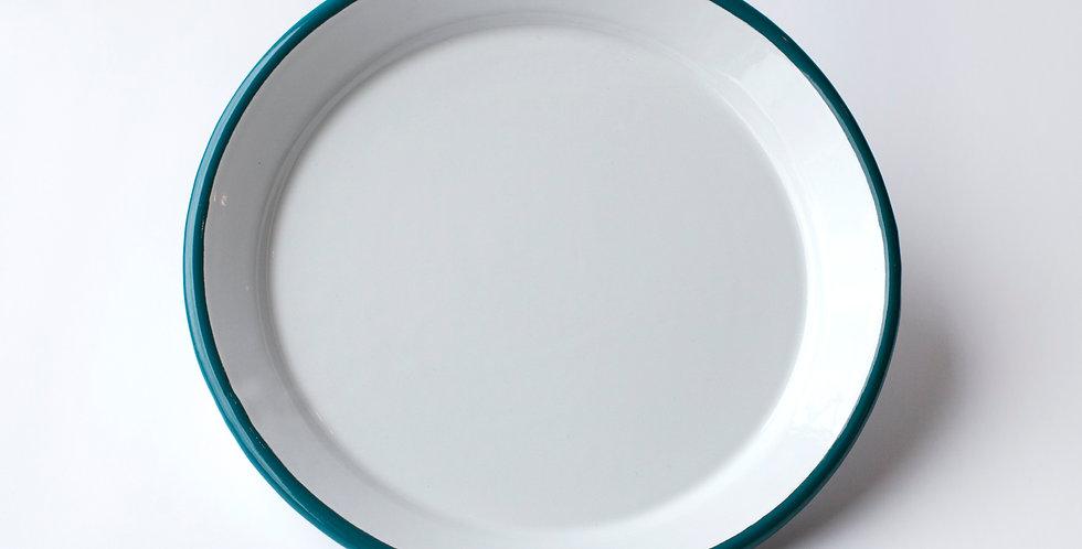 Bornn Enamelware Large Plate (Blue)