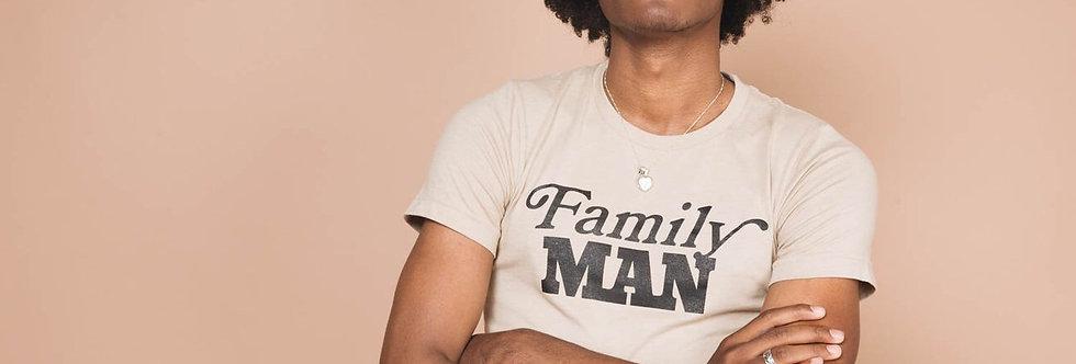 The Bee & The Fox Family Man tee