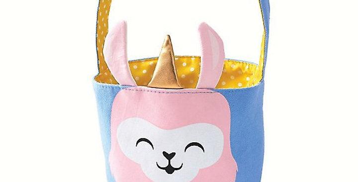 Paper Source llamacorn Easter Basket