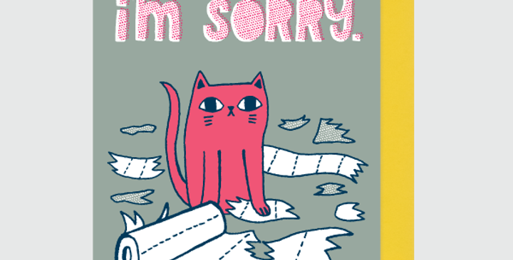 Allison Cole I'm Sorry Card