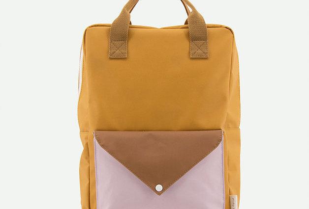 Sticky Lemons large backpack in Caramel Fudge