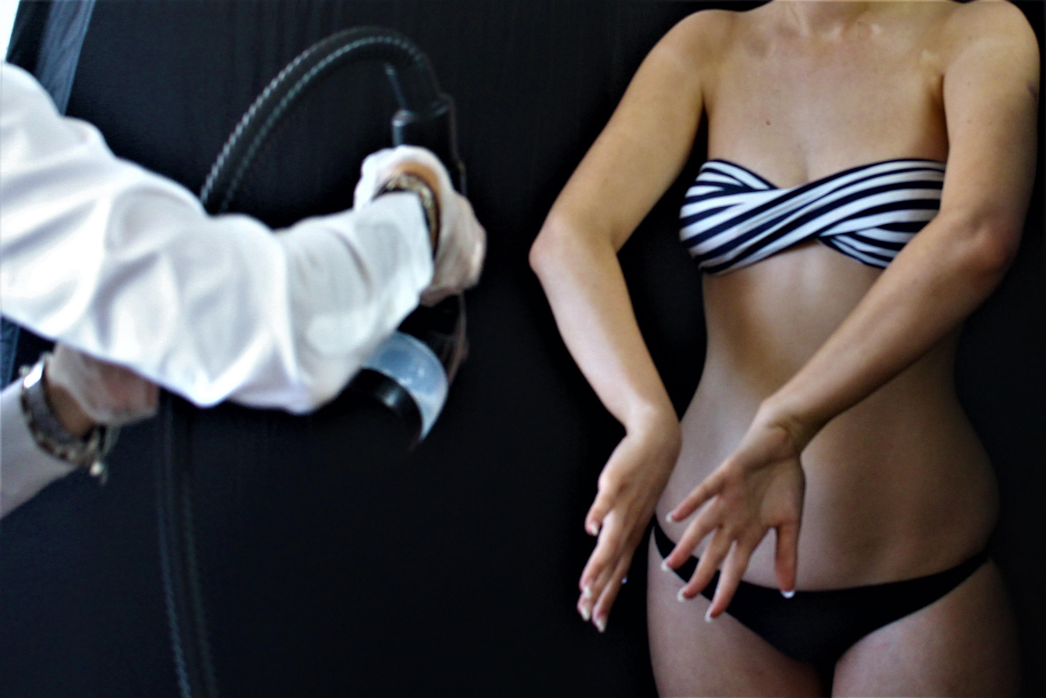 tanning application