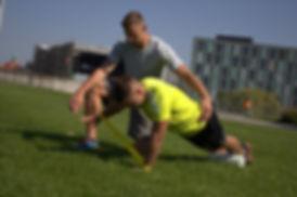 Athletiktraining mit Johannes Boldt - Funktionelles Training mit Widerstandsband