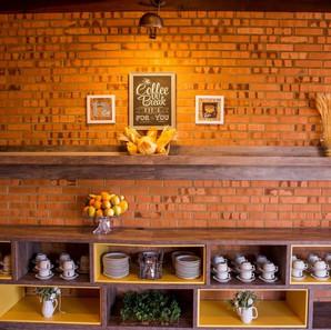 Área Café da manhã