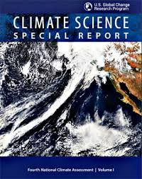 US Report Vol 2 on Climate Change Assessment just got released right during Thanksgiving celebration