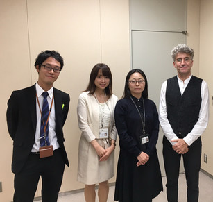 Meeting with Tokyo Carbon Market to discuss links between innovation and climate change