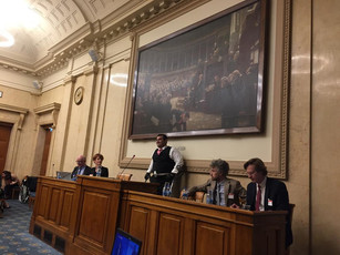 Launch of world's first IP carbon footprint, CLipMATE, at the French Parliament