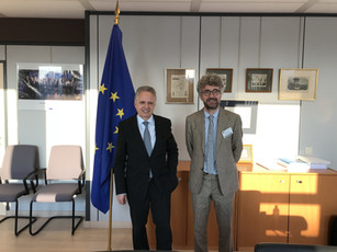 Presenting CLipMATE to Mr. Dominique Ristori, Director General of Directorate-General for Energy wit