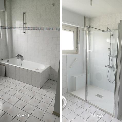Avant / Après rénovation de salle de bains