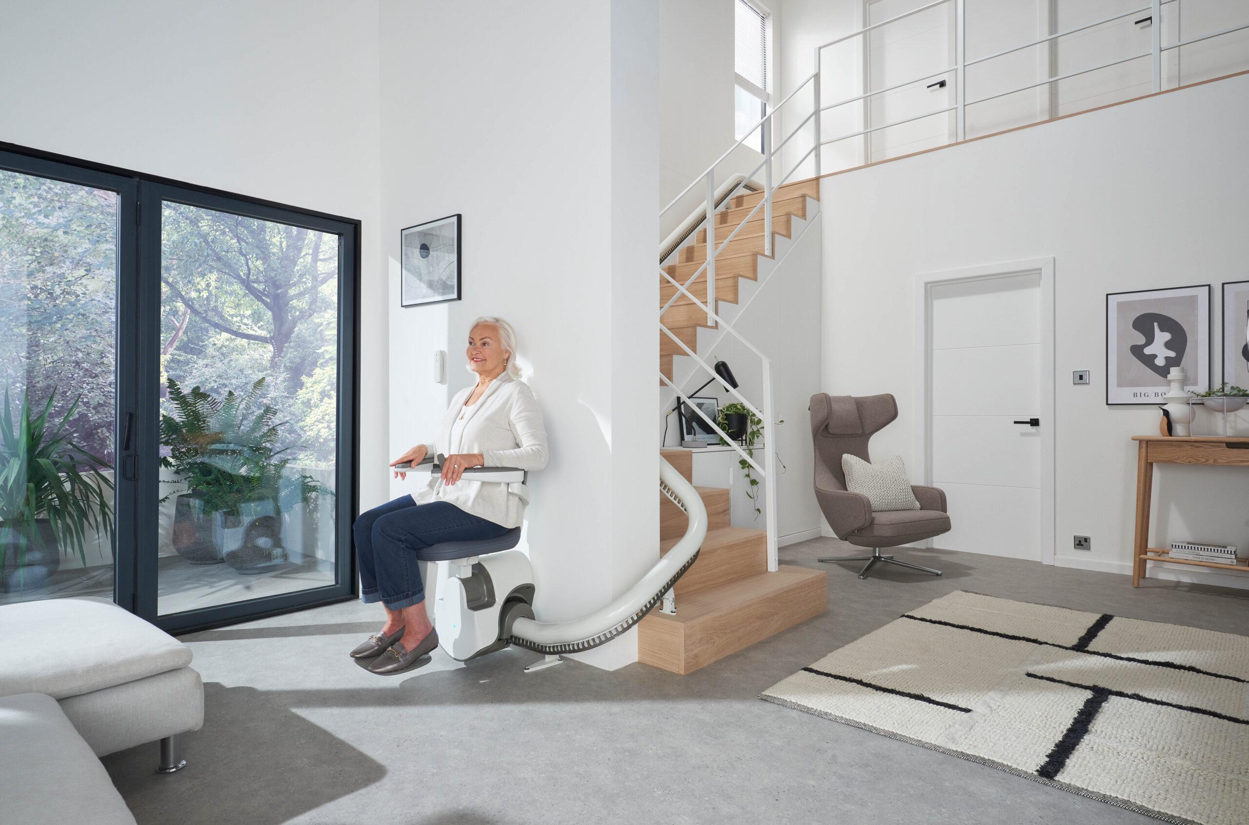 Monte-escalier Access BDD par Solutions Seniors Habitats