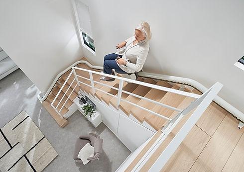 Monte escalier Flow x par access BDD