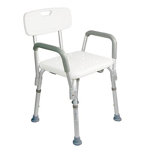 Chaise de douche avec accoudoirs HIVA - Drive de Vilbriss