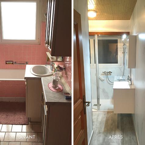 Rénovation salle de bain complète
