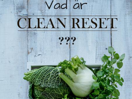 Vad är Clean Reset?