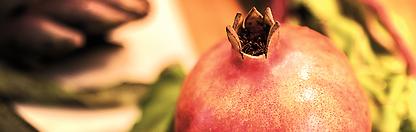 Granatäpple fullt av antioxidanter